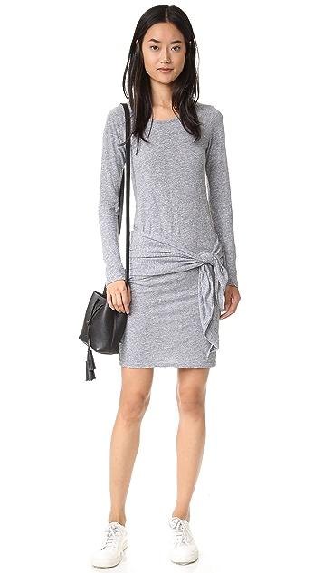 MONROW Tie Front Dress