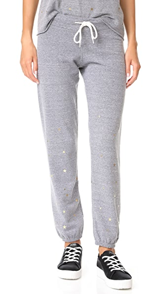 MONROW Vintage Sweats with Stardust - Dark Heather