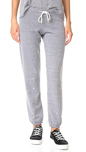 MONROW Vintage Sweats with Stardust