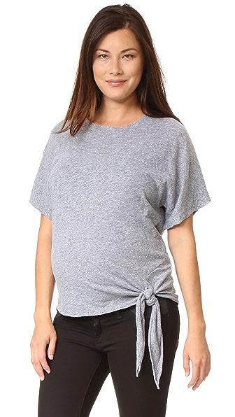 MONROW Объемная футболка для беременных