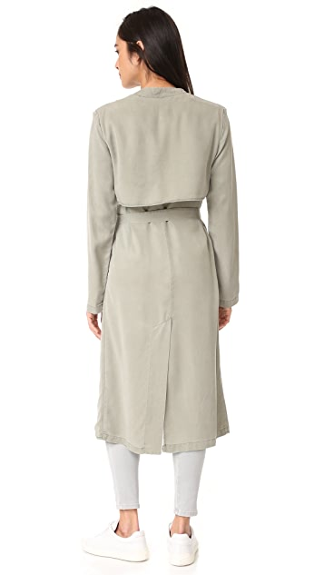 MONROW Long Trench Coat