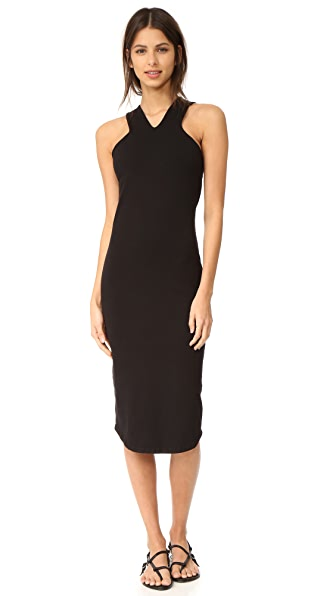 MONROW Cutout V Tank Dress