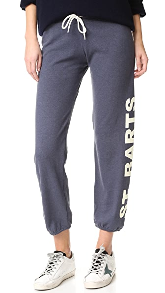 MONROW Vintage St. Barth Sweats - Blue Clay