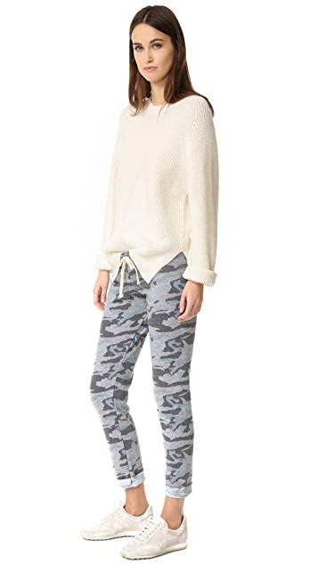 MONROW Slim Camo Sweatpants