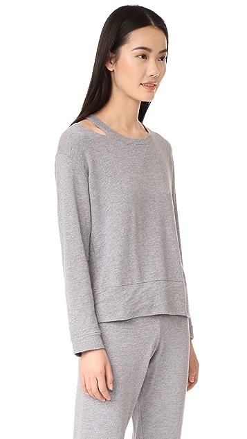 MONROW Slash Sweatshirt
