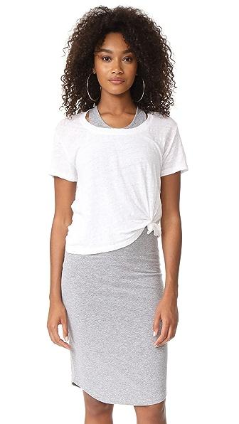 MONROW Sporty Dress - White