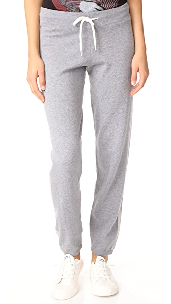 MONROW Bone Side Stripe Sweats