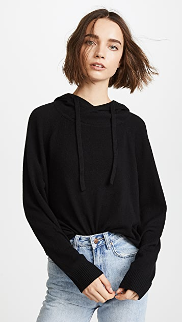 MONROW Cashmere Pullover Hoodie
