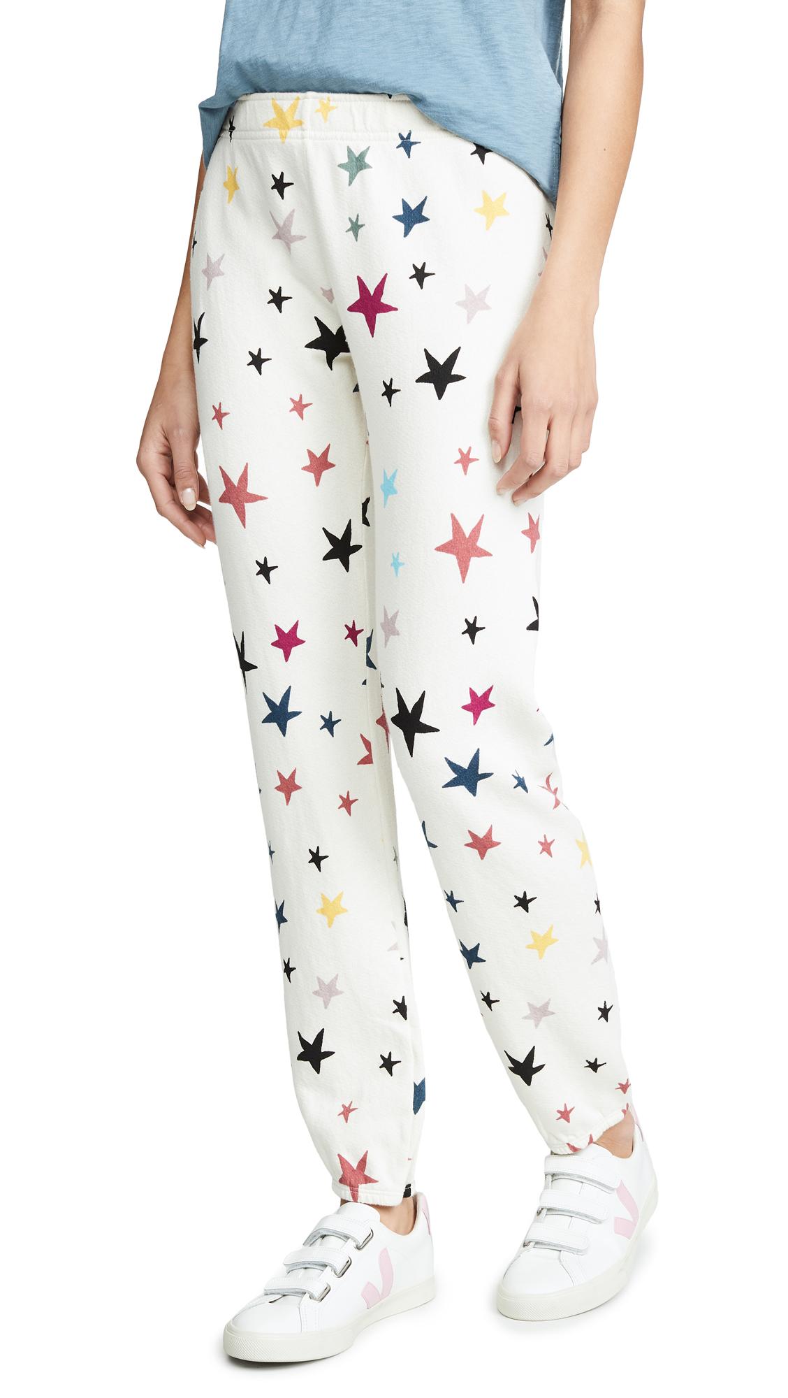 MONROW Color Star Sweatpants