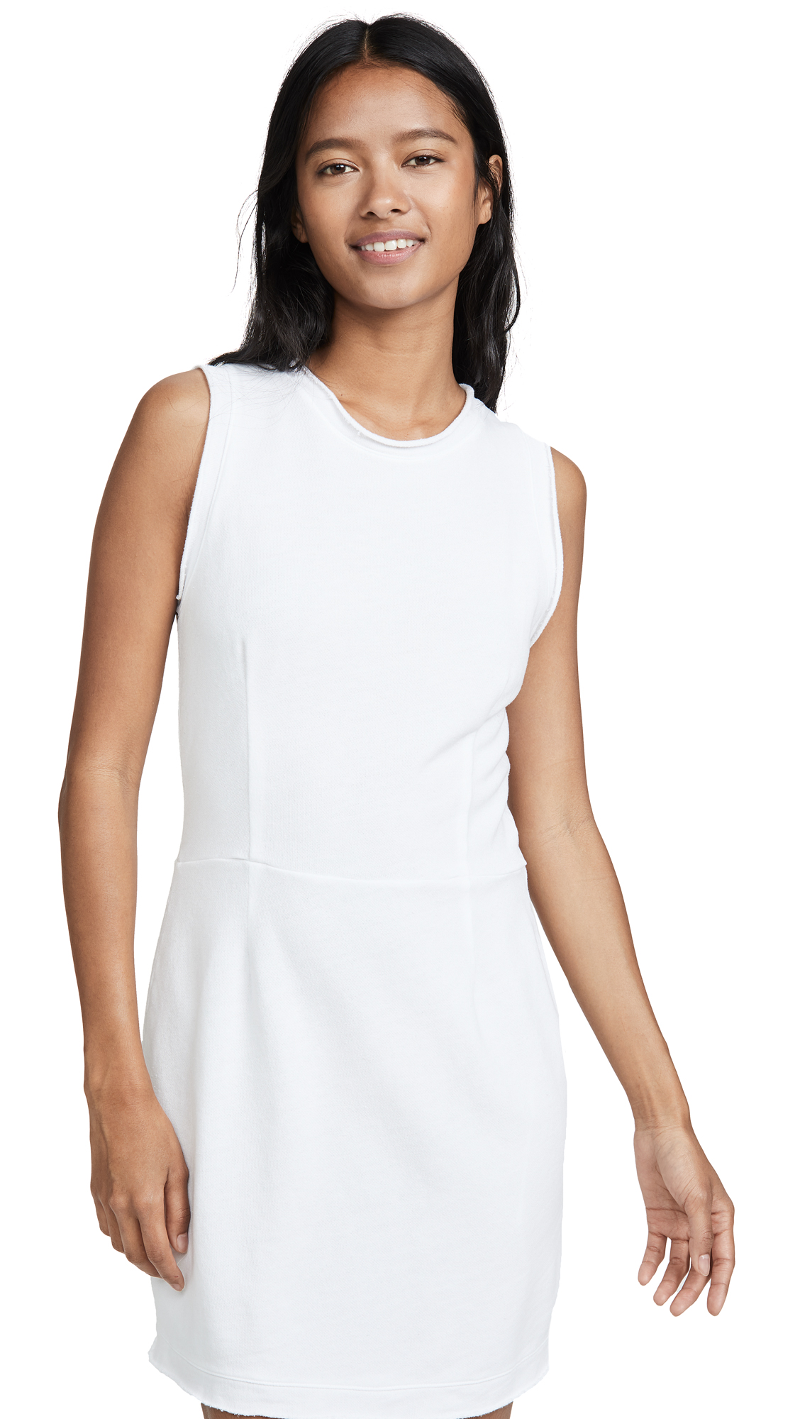Buy MONROW Distressed Dress online beautiful MONROW Clothing, Dresses