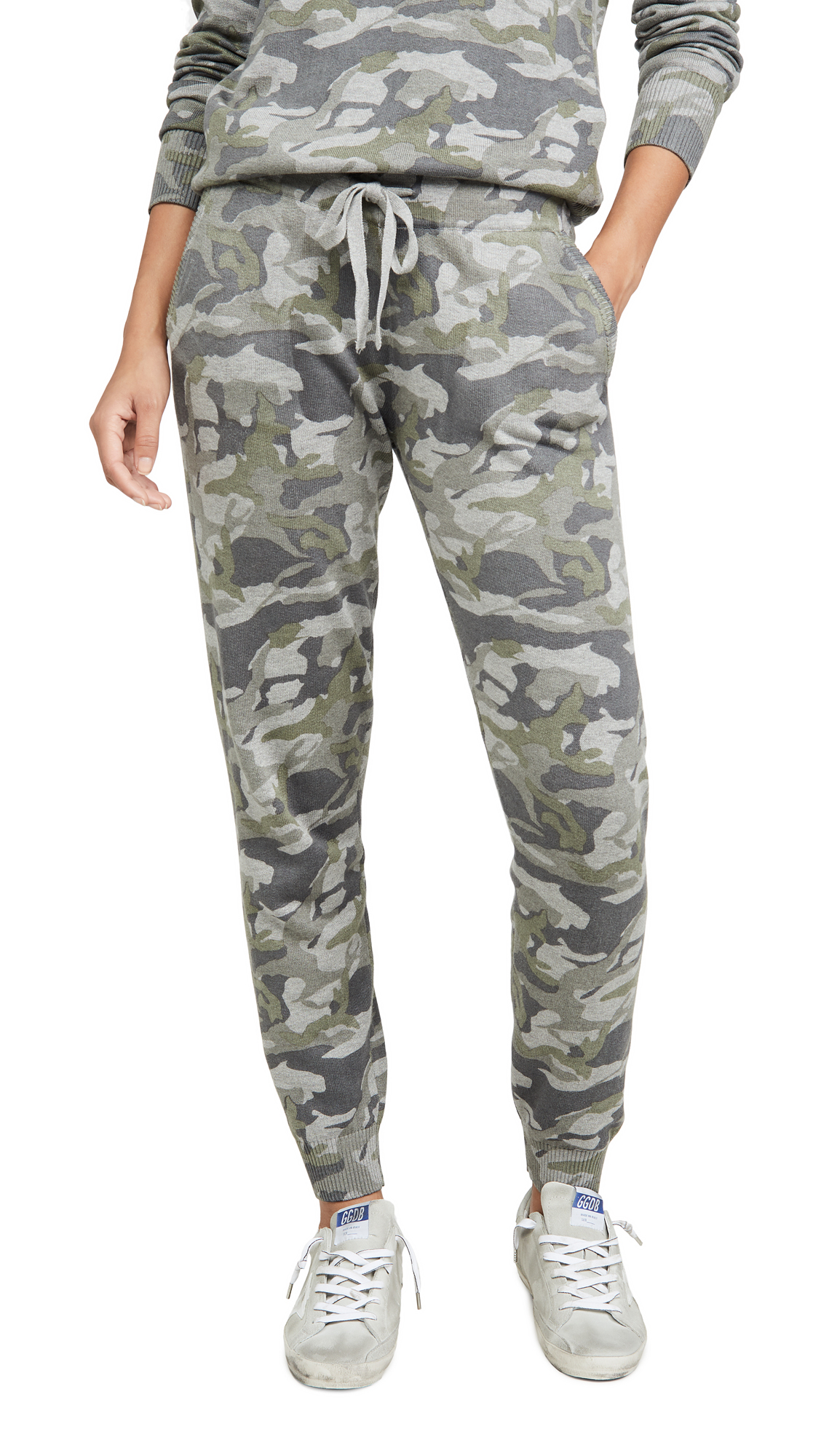Buy MONROW online - photo of MONROW Grey Camo Sweats