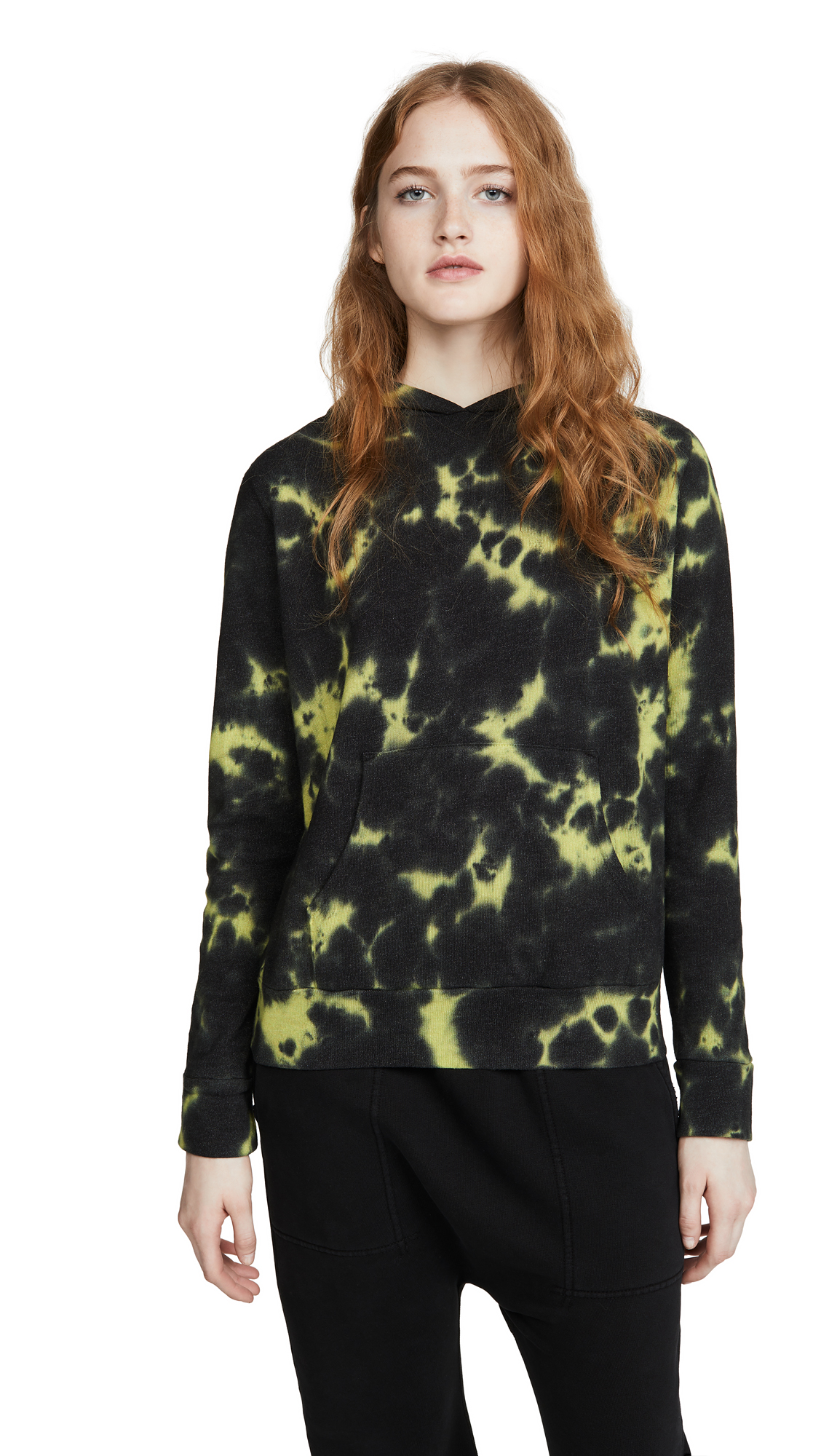 Buy MONROW online - photo of MONROW Pullover Tie Dye Hoodie