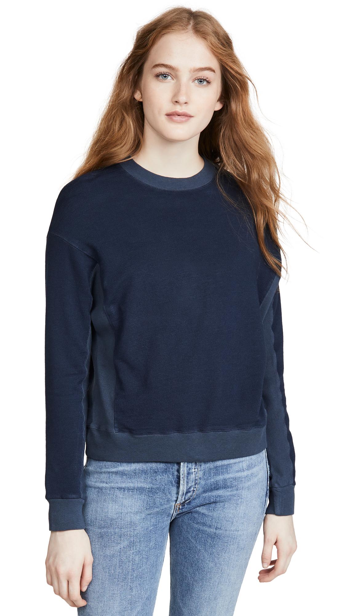 Buy MONROW online - photo of MONROW Contrast Supersoft Sweatshirt