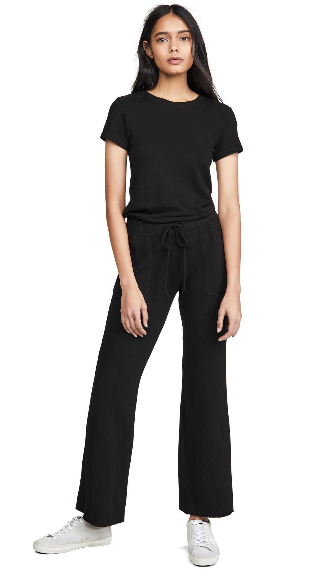 Buy MONROW online - photo of MONROW Supersoft Tee Jumpsuit