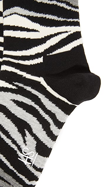 HS Multi Zebra Socks