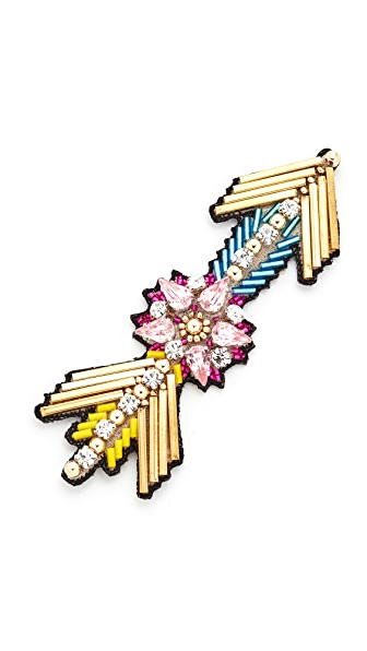 Huda Al Nuaimi Arrow Pin at Shopbop