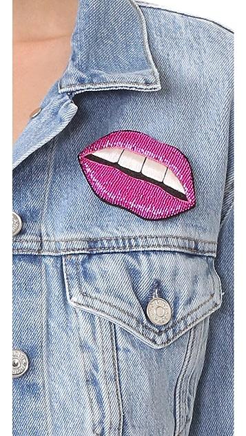 Huda Al Nuaimi Candy Lips Pin