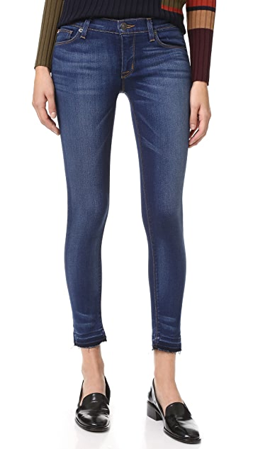 Hudson Krista Cropped Skinny Jeans