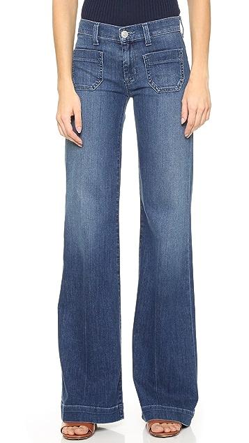 Hudson Libby Wide Leg Sailor Jeans