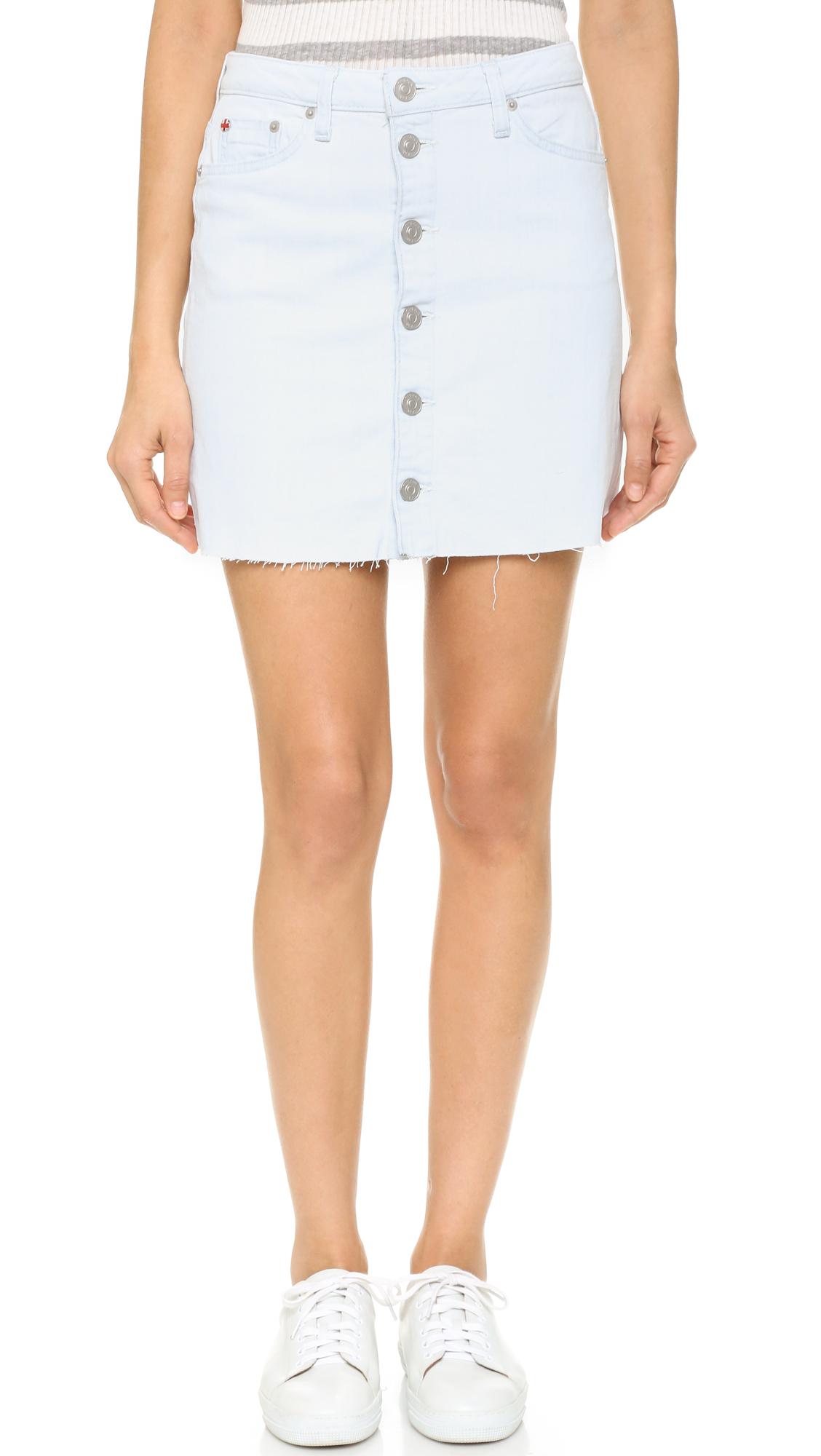 Hudson Cammy Button Up Skirt - Seaside at Shopbop