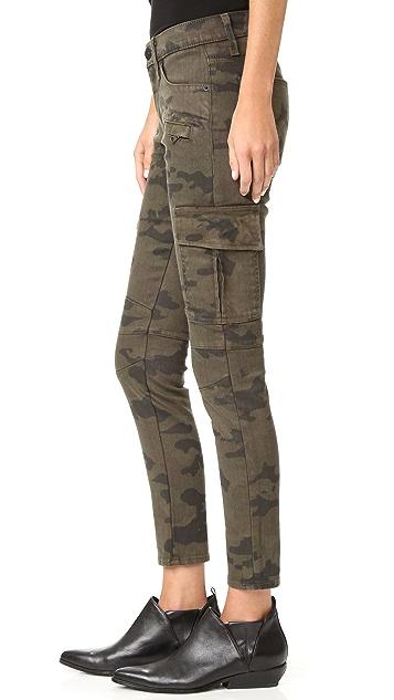 Hudson Colby Ankle Moto Skinny Cargo Jeans