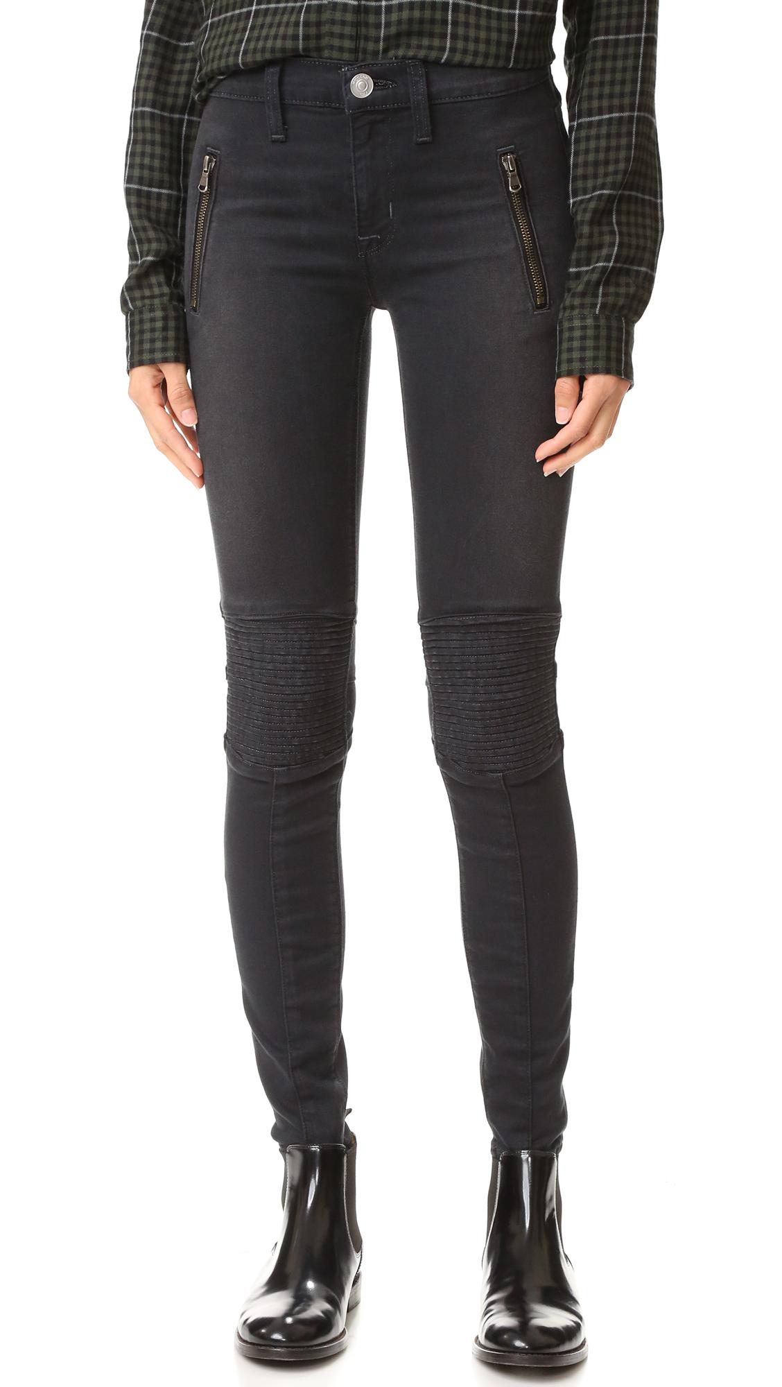 Hudson Stark Moto Pants - Disillusioned at Shopbop