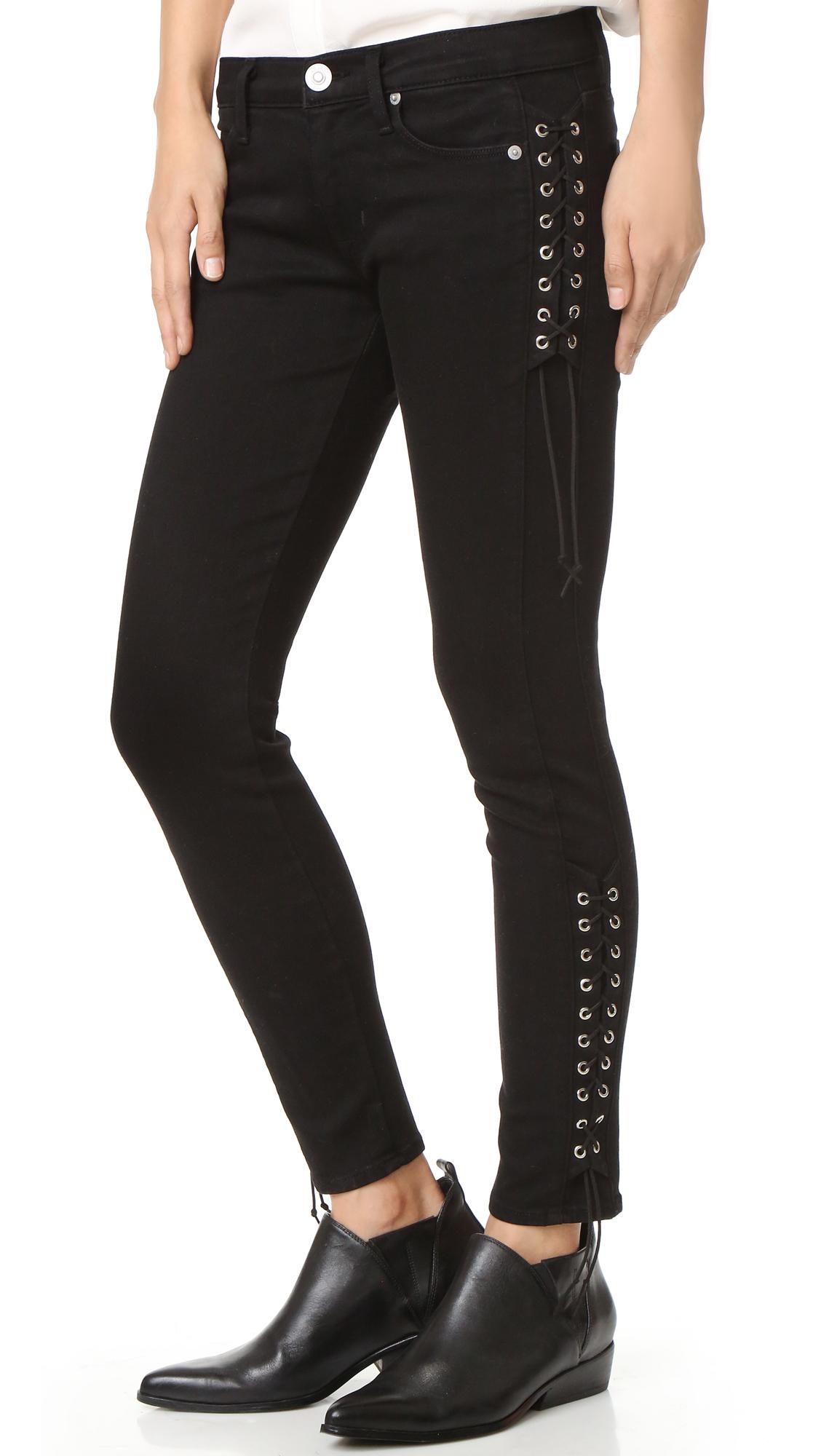 Hudson Suki Skinny Jeans - Black at Shopbop