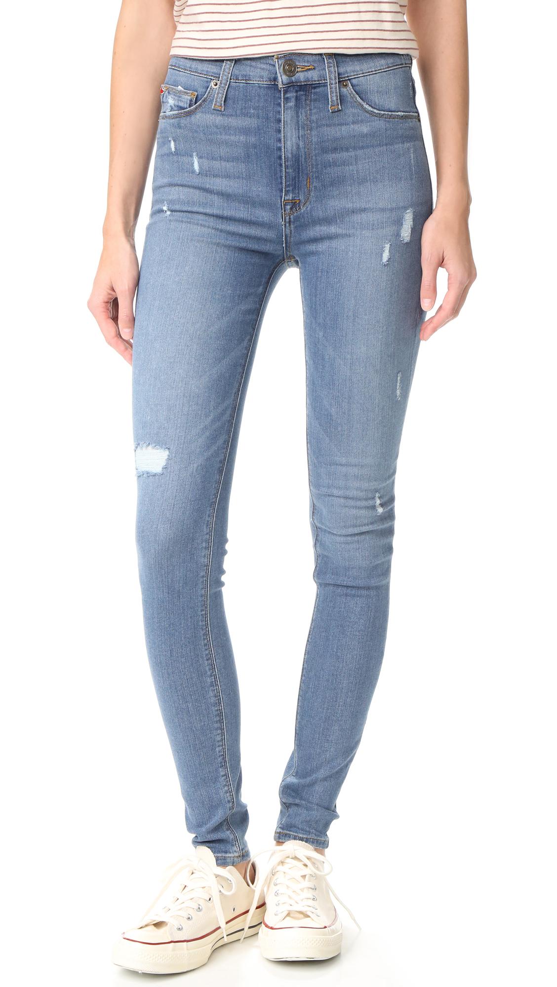 Hudson Barbara High Waisted Skinny Jeans - Revolver at Shopbop