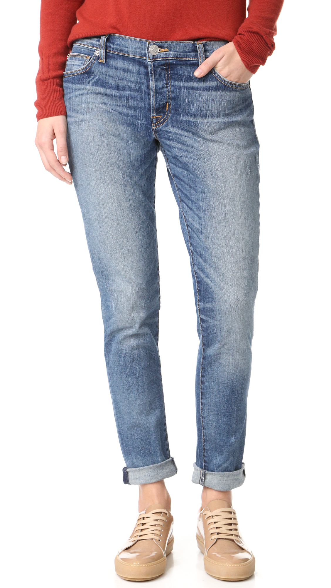 Hudson Riley Easy Slim Boyfriend Jeans - Disharmony at Shopbop