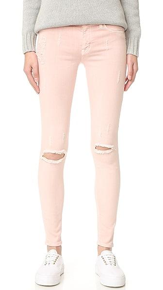 Hudson Nico Mid Rise Super Skinny Jeans at Shopbop