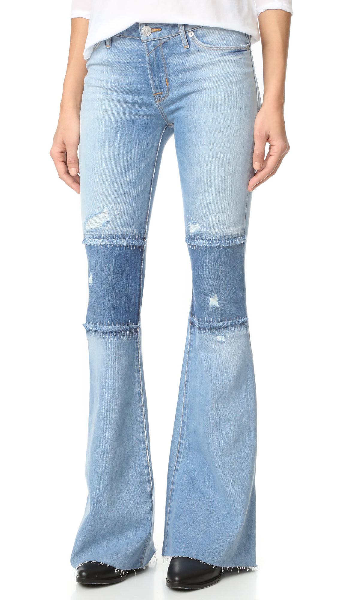 Hudson Custom Mia 5 Pocket Jeans - Royal Delta at Shopbop