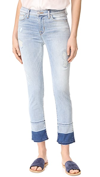 Hudson Zoeey Mid Rise Cropped Jeans - Side Hustle