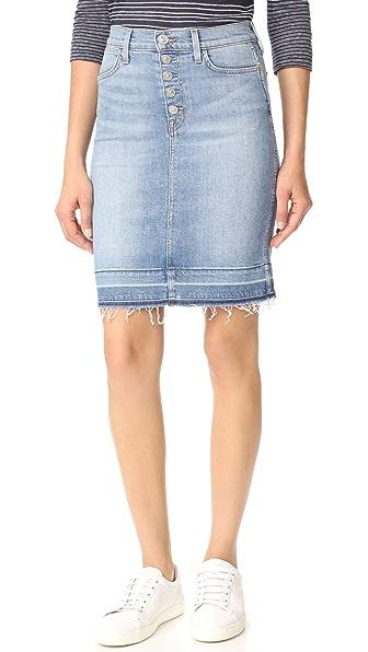Hudson Remi High Rise Pencil Skirt at Shopbop