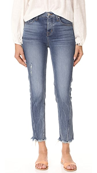 Hudson Rival Seamed High Rise Jeans - Uproar