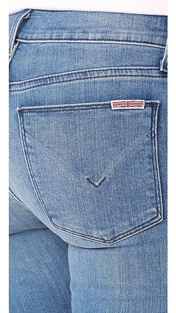 Hudson Tilda Midrise Crop Cigarette Jeans