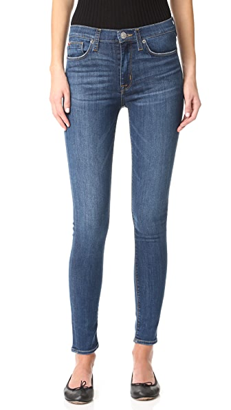 Hudson Barbara High Waisted Skinny Jeans - Dream On