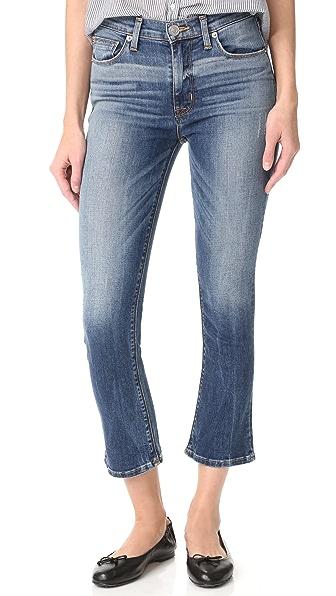 Hudson Harper High Rise Cropped Jeans at Shopbop