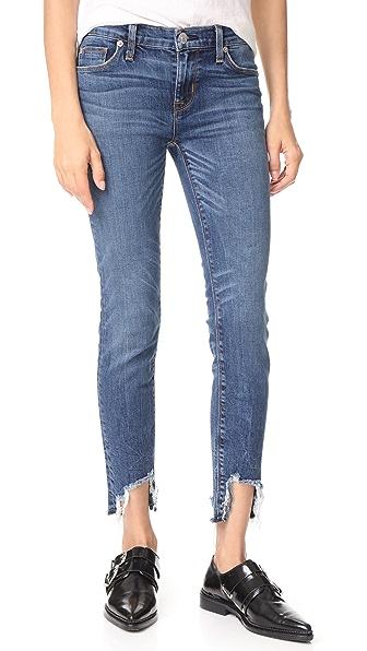 Hudson Colette Midrise Skinny Cigarette Jeans