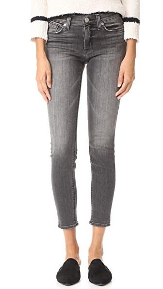 Hudson Nico Mid Rise Ankle Super Skinny Jeans at Shopbop
