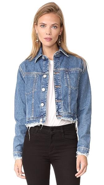 Hudson Garrison Cropped Jacket