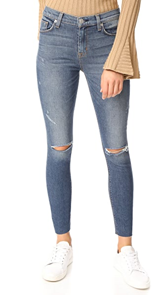Hudson Barbara High Waist Super Skinny Jeans - Nowhere Girl