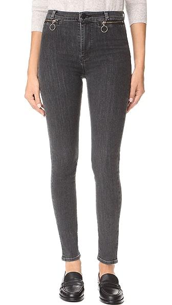Hudson Kooper High Rise Super Skinny Jeans - Disarm