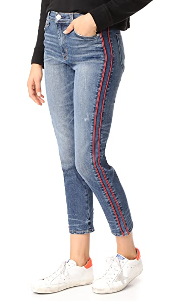 Hudson Custom Zooey High Rise Straight Leg Jeans - Reform