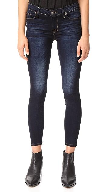 Hudson Nico Mid Rise Ankle Super Skinny Jeans