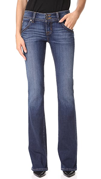 Signature Boot Cut Jeans