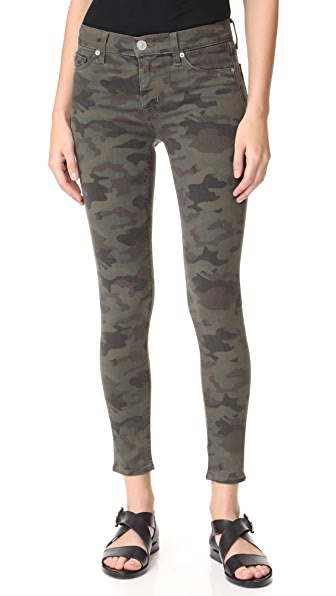 Hudson Nico Mid Rise Super Skinny Jeans at Shopbop