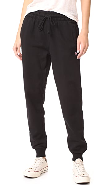 Hudson Classic Sweatpants In Black