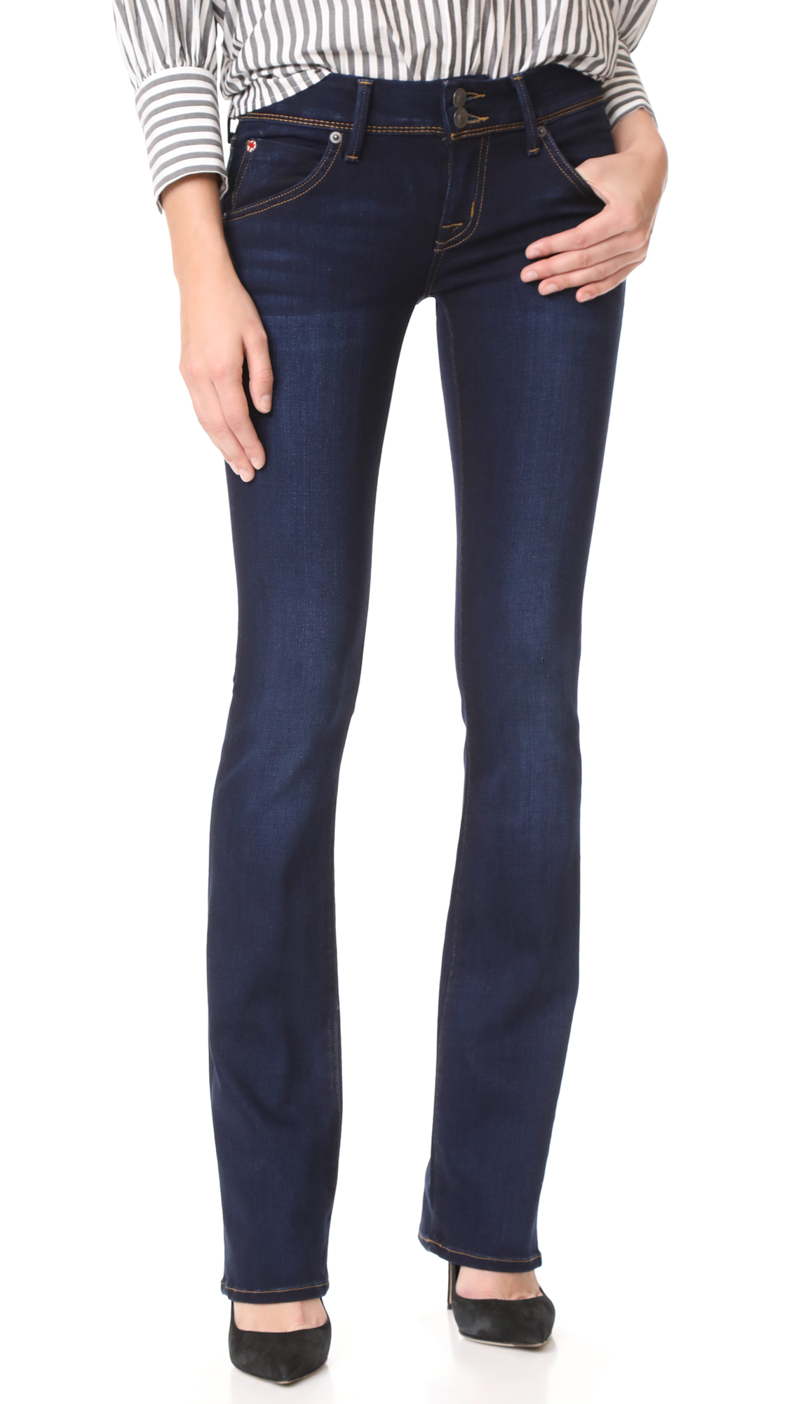 Hudson Beth Baby Boot Cut Jeans In Oracle