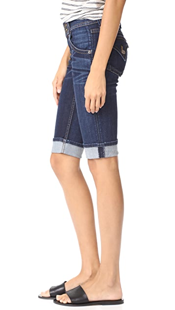 Hudson Palerme Knee Cuffed Shorts