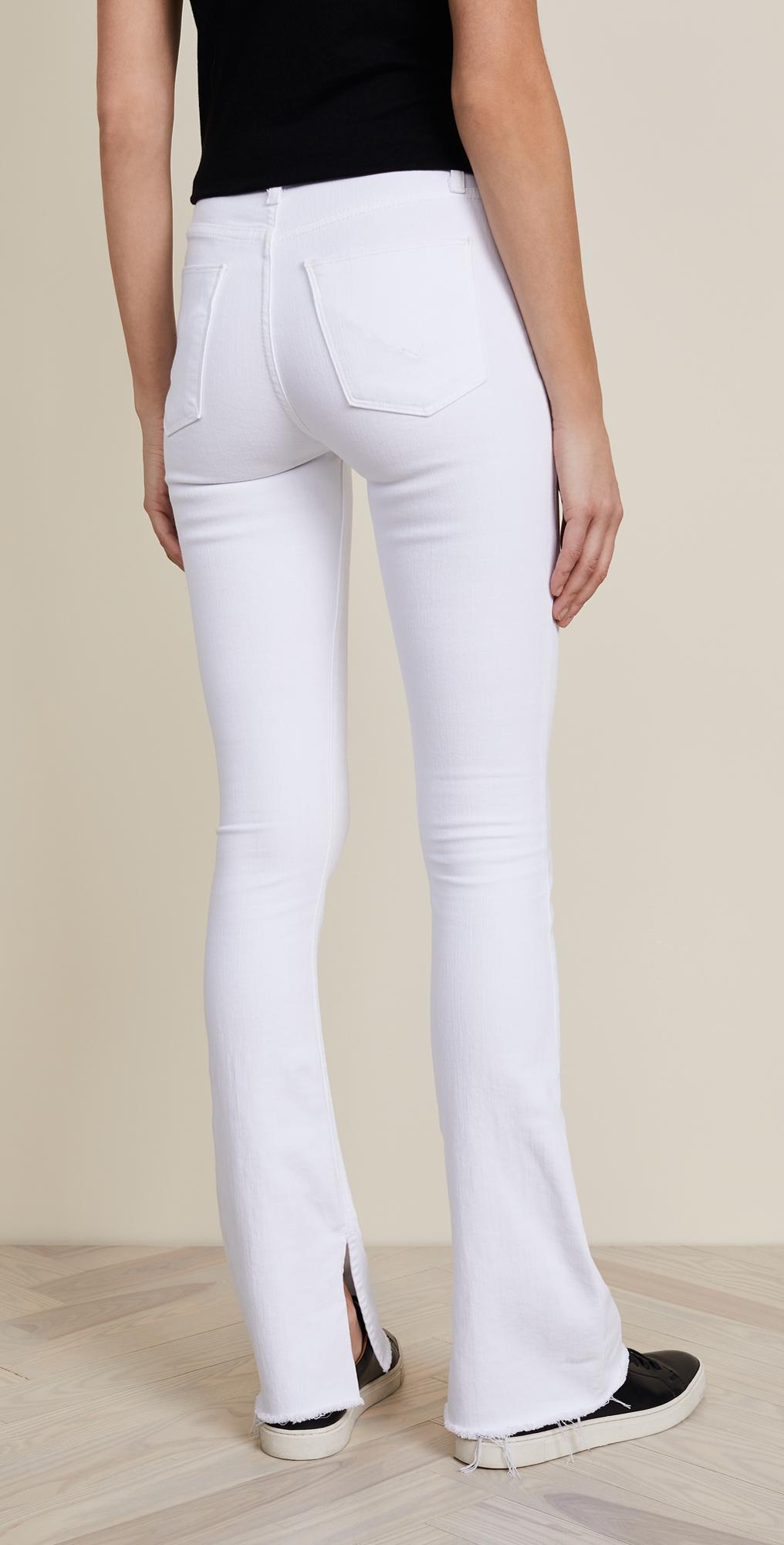 6c942f267e9 Hudson Heartbreaker High Rise Boot Cut Jeans with Slits | SHOPBOP
